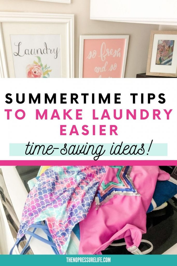 Summer Laundry Tips That Will Simplify Your Routine