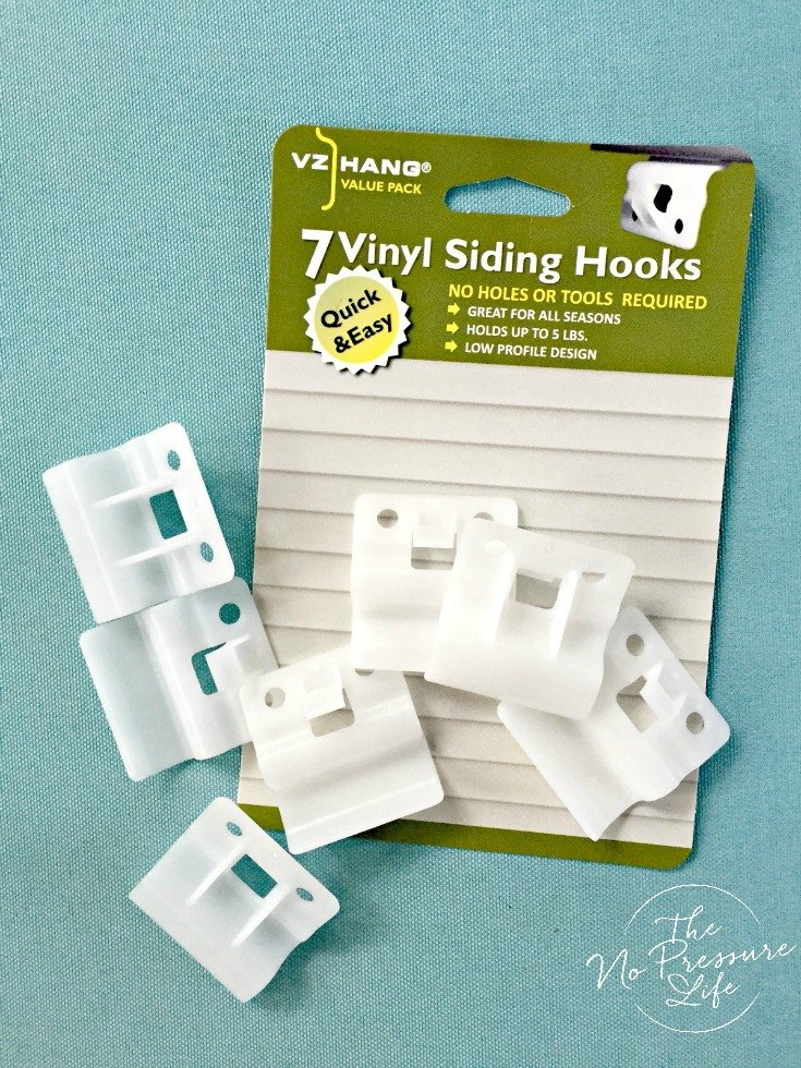 How to hang things on vinyl siding with VZ Hang hooks